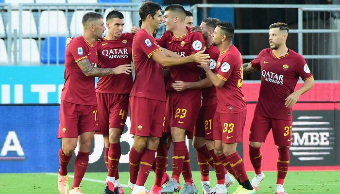 Рома забила пять голов за один тайм впервые за 89 лет