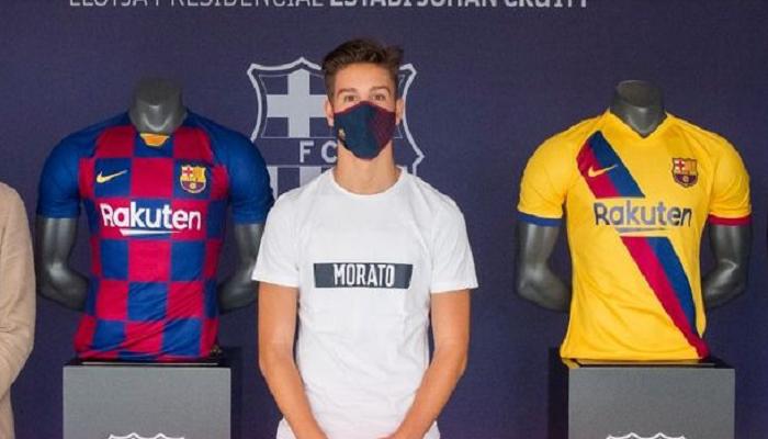 Барселона подписала юного форварда Райо Вальекано Лусси