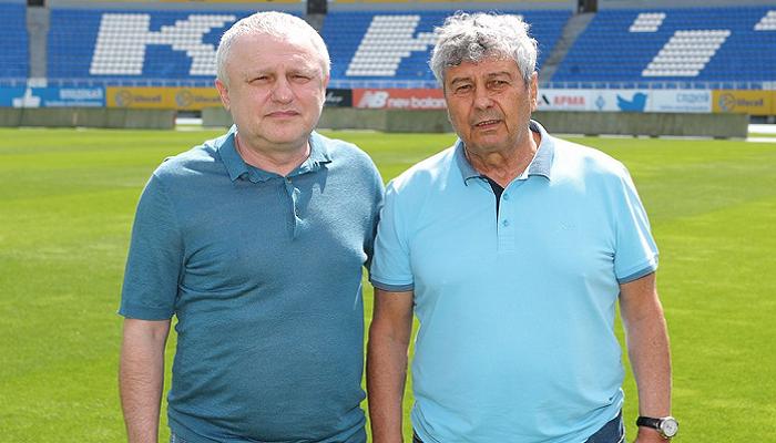 Луческу отметит день рождения с семьей Суркиса и сотрудниками Динамо