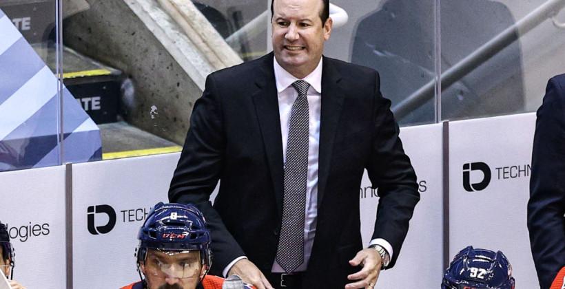 Вашингтон Кепіталз звільнив головного тренера Рірдена