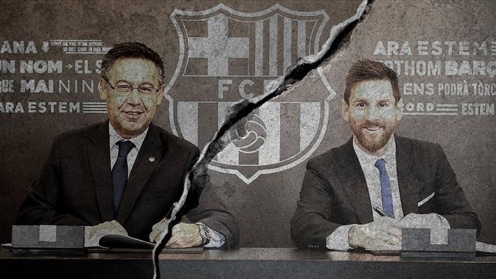 Месси уведомил Барселону, что уходит. Но это может быть шантаж