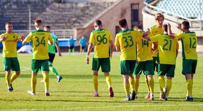 Прикарпатье обыграло в гостях Горняк-Спорт в матче с четырьмя пенальти