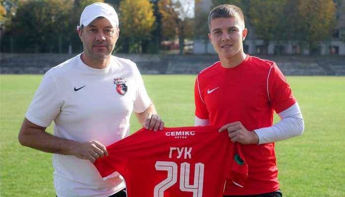 Верес подписал воспитанника Динамо Гука