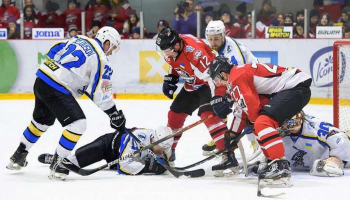 Донбасс в овертайме победил Днепр и повел в полуфинальной серии УХЛ