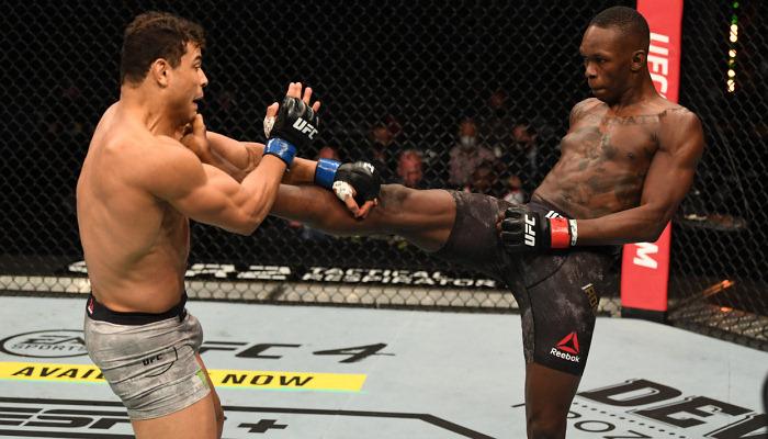 Адесанья победил Косту техническим нокаутом и защитил титул чемпиона UFC в среднем весе
