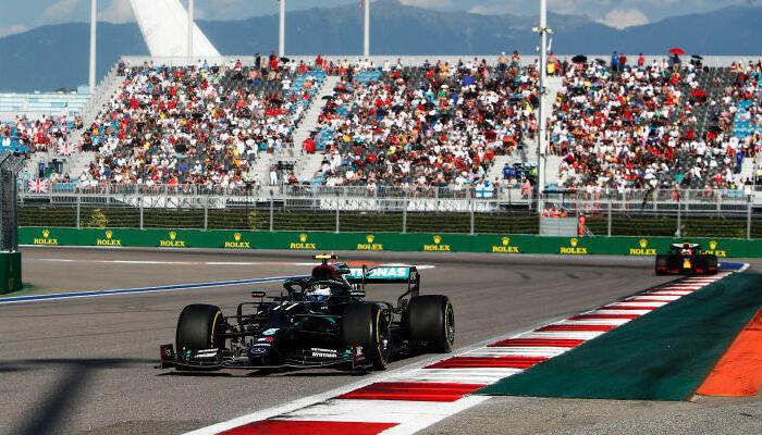 Боттас выиграл Гран-при России, Хэмилтон — третий