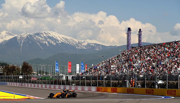 Гран-прі Росії зможуть відвідати 30 тисяч глядачів