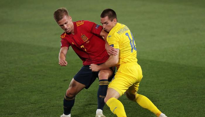 Украина Испания