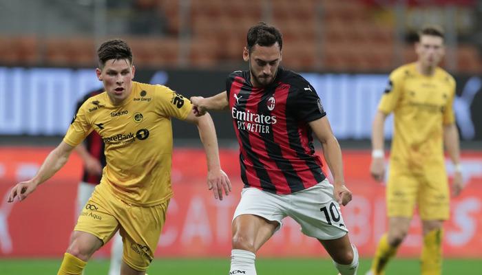 Милан в результативном матче с трудом обыграл Буде-Глимт