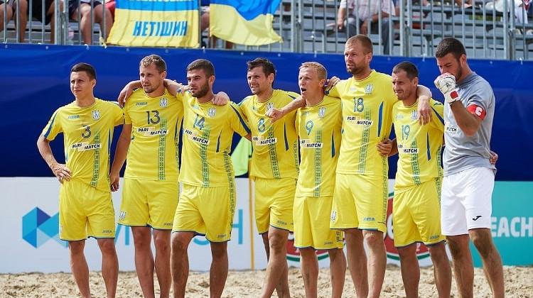 У 2021 році Україна прийме відбірковий турнір Євроліги з пляжного футболу
