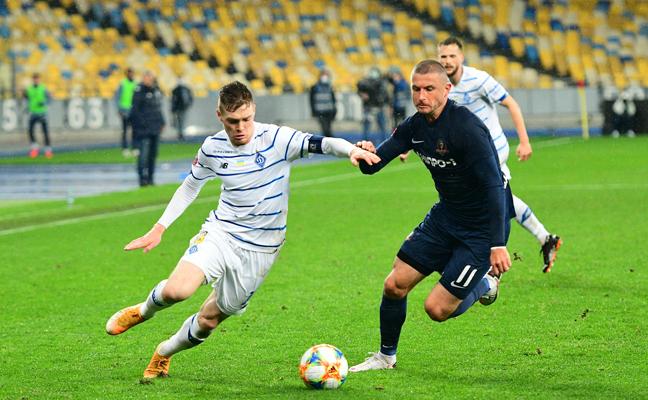 Матч Дніпро-1 — Динамо розсудить Пасхал — призначення арбітрів на 21-й тур Favbet Ліги