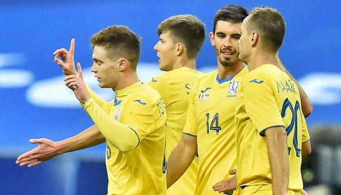 Украина поднялась на 23-е место в рейтинге ФИФА