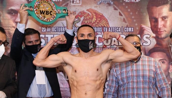 Естрада отримав статус франчайзингового чемпіона від WBC