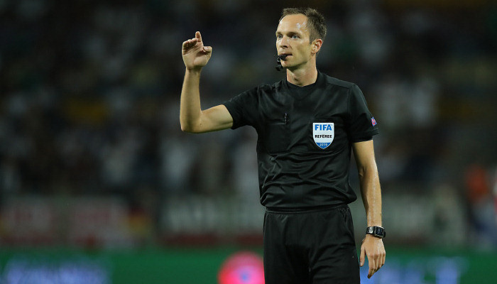 Матч Реал — Шахтер рассудит серб Йованович