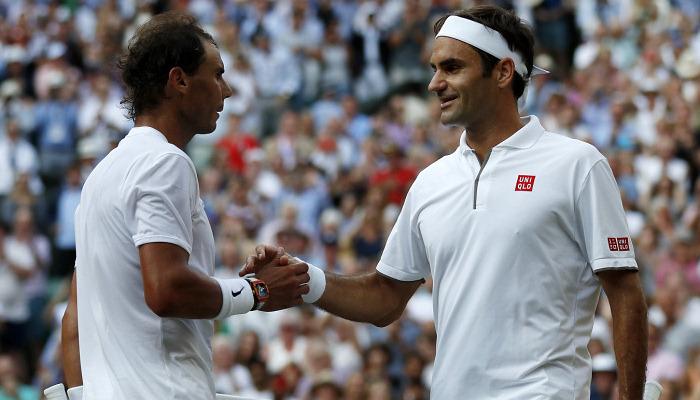 Федерер: «Для меня большая честь поздравить Надаля с 20-й победой на турнирах Grand Slam»