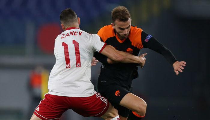 Рома на своем поле сыграла вничью с софийским ЦСКА в Лиге Европы