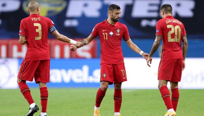 Португалія розгромила Швецію в Лізі націй