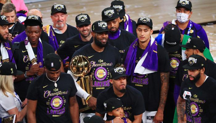 Лейкерс в 17-й раз в історії стали чемпіонами НБА