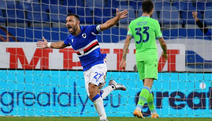 Лацио разгромно проиграл Сампдории на выезде