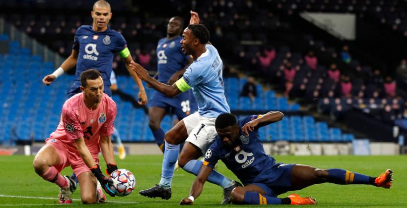 Манчестер Сіті в вольовому стилі обіграв Порту на своєму полі
