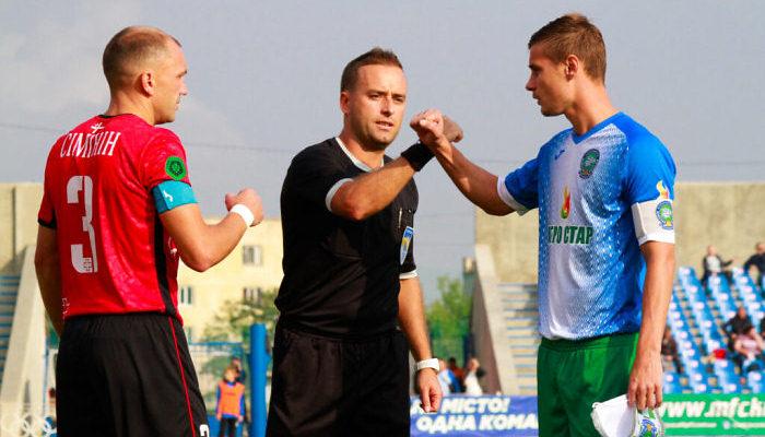 Кристал звернувся до ПФЛ з приводу суддівства Петренка в матчі з Волинню
