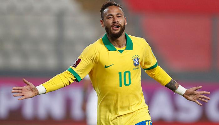 Неймар вийшов на друге місце за кількістю голів за збірну Бразилії, обійшовши Роналдо