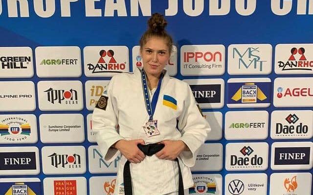 Украинка Каланина выиграла бронзу на чемпионате Европы по дзюдо