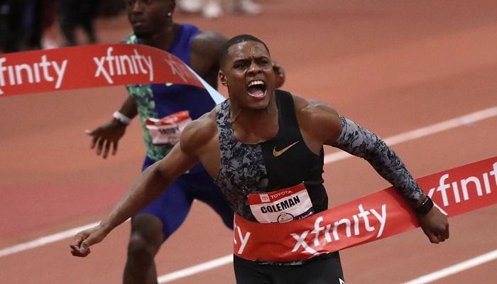 Чемпіон світу з бігу на 100 метрів Коулмен оскаржив в CAS свою дворічну дискваліфікацію