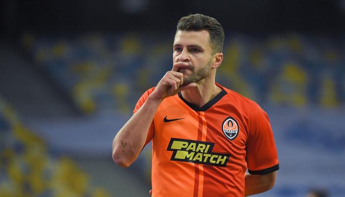 Мораес провів сотий матч за Шахтар