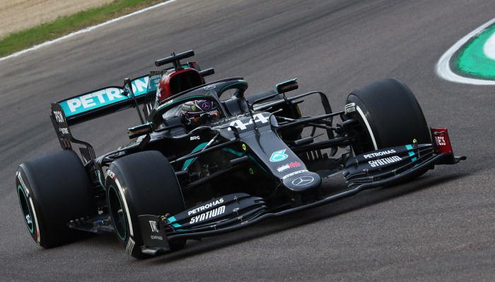 Хемілтон виграв Гран-прі Емілії-Романьї, Мерседес став володарем Кубка конструкторів