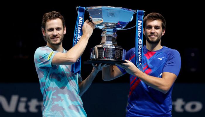 Коолхоф і Мектіч виграли парний розряд Підсумкового турніру ATP