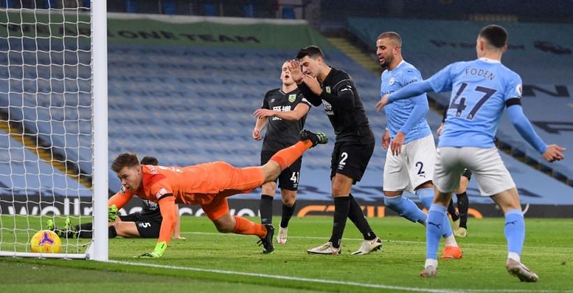Бернли - Манчестер Сити где смотреть онлайн видеотрансляцию матча