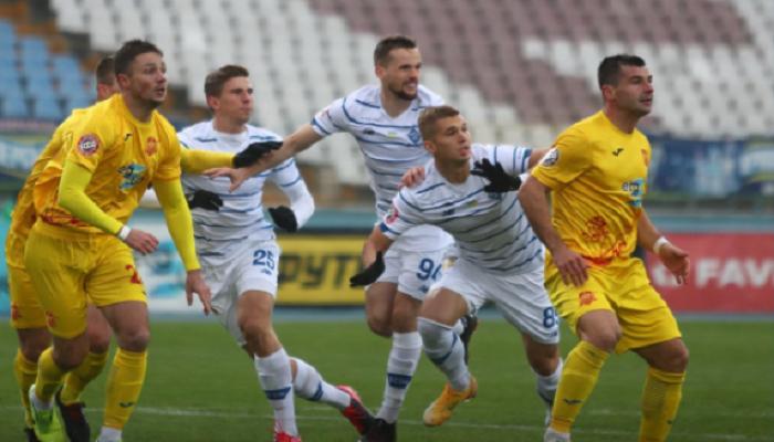Ингулец — Динамо 0:2: онлайн трансляция матча