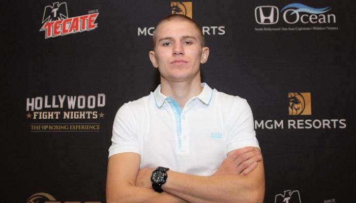 Украинец Богачук 25 февраля проведет бой с американцем Адамсом