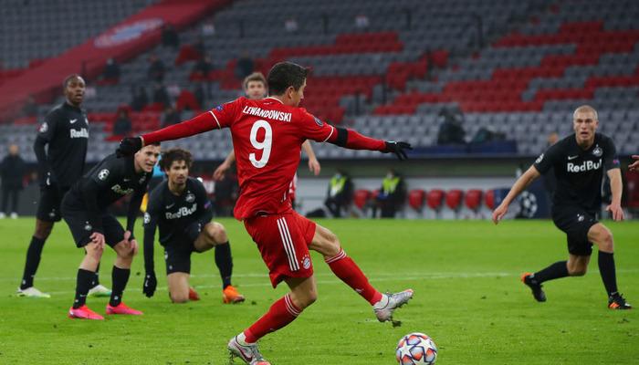 Левандовскі зрівнявся з Раулем за кількістю голів в Лізі чемпіонів
