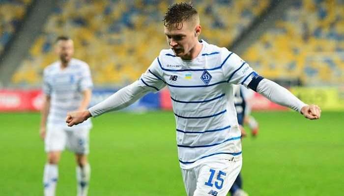 Циганков – найкращий гравець Динамо в грудні