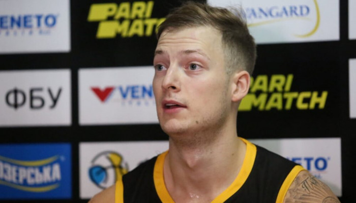 Киев-Баскет прекратил сотрудничество с эстонцем Таммом