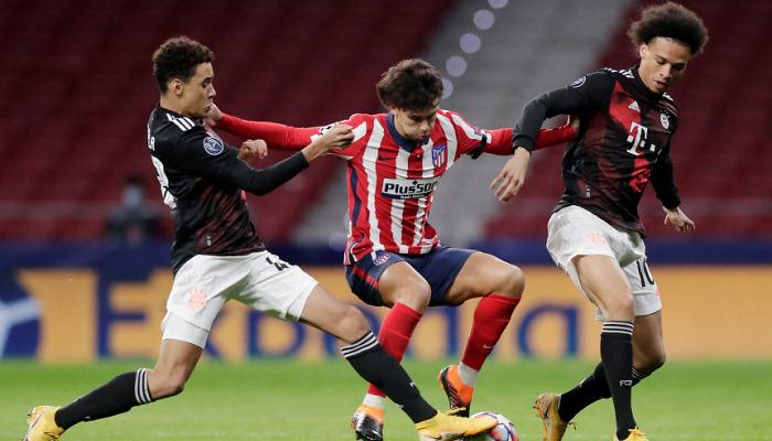 Атлетико упустил победу над Баварией в конце матча