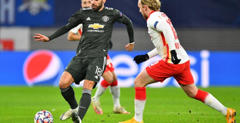 РБ Лейпциг обыграл Манчестер Юнайтед и вышел в плей-офф Лиги чемпионов