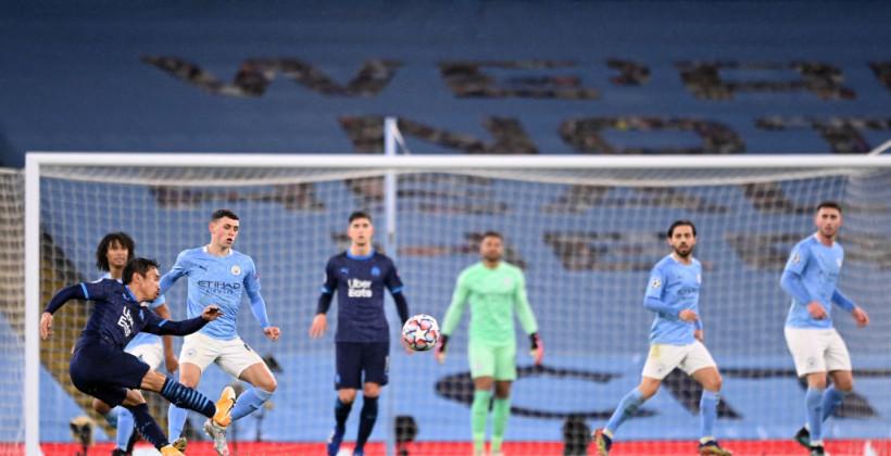 Манчестер Сіті на своєму полі розгромив Марсель