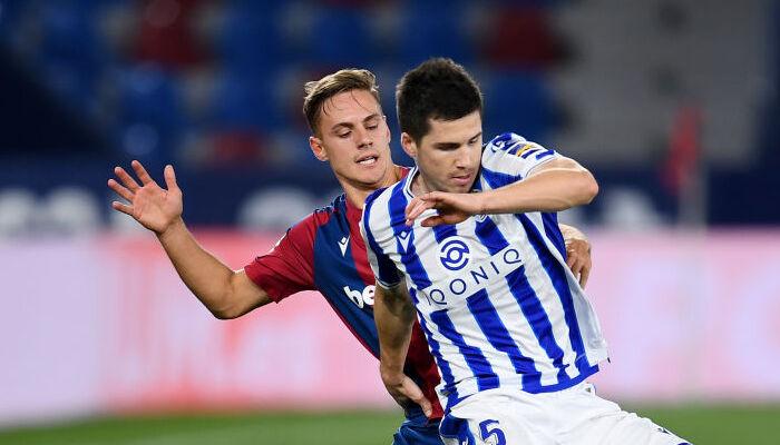 Реал Сосьедад проиграл Леванте и отпустил Атлетико в отрыв