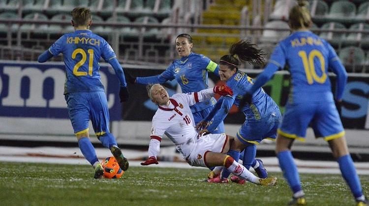 Женская сборная Украины победила Черногорию и продолжит борьбу за выход на Евро-2022