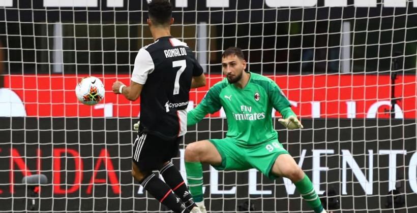 Милан Ювентус онлайн трансляция
