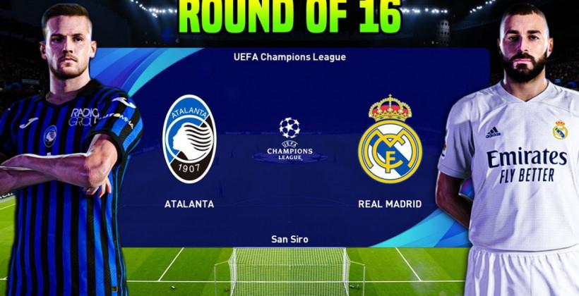 Аталанта – Реал где смотреть онлайн видеотрансляцию матча