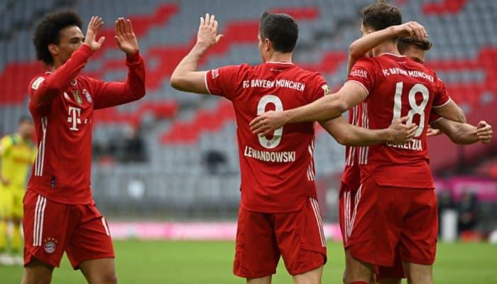 Бавария – Боруссия Д где смотреть в прямом эфире видеотрансляцию матча
