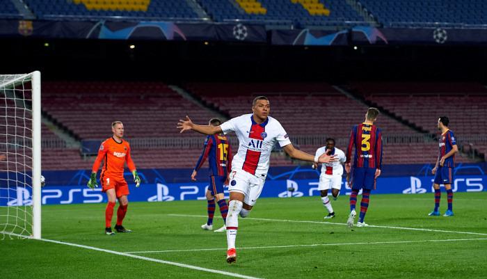 Мбаппе стал самым молодым футболистом, забившим 25 голов в ЛЧ