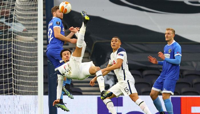 Тоттенхэм разгромил Вольфсбергер и вышел в 1/8 финала Лиги Европы