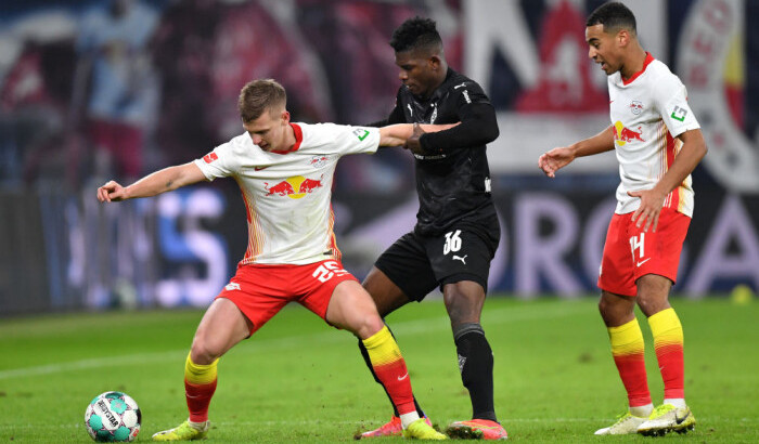 РБ Лейпциг совершил впечатляющий камбэк в матче с Боруссией М, отыгравшись с 0:2