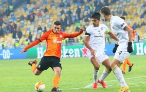 Мораес стал лучшим бомбардиром украинских клубов в Лиге Европы