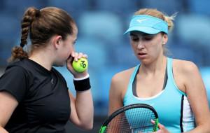 Людмила Кіченок поступилася на старті парного турніру в Римі
